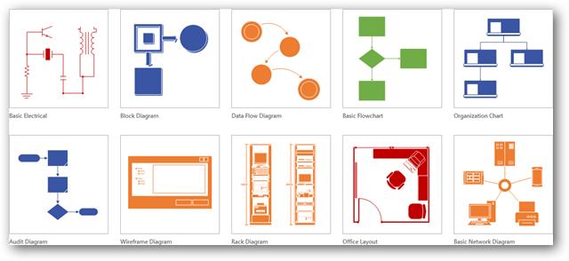 Visio 2013 Network Diagram